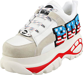 Buffalo 1337-14 2.0 Womens Platform Trainers in White Multicolour - 6.5 UK