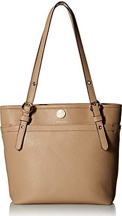 Anne Klein Womens Small Pocket Tote, chino