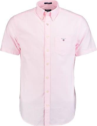 Roze Overhemd Heren Korte Mouw.Gant Overhemden Met Korte Mouw Koop Tot 22 Stylight