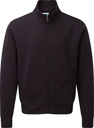 Russell Athletic Russell Mens Authentic Full Zip Sweatshirt Jacket (L) (Black)