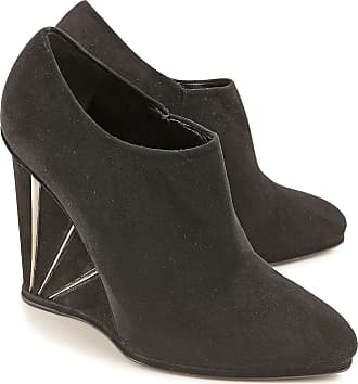 Stuart Weitzman Wedges for Women On Sale in Outlet, Black, Suede leather, 2017, 5.5