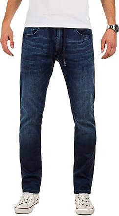 Yazubi Designer Sweatpants in Jeans - Look Erik - Sweatpants Men Pockets Baggy Slim Fit Teal Sky, Blue (Insignia Blue 194028), W29/L34