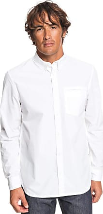 Quiksilver Ostalamer - Long Sleeve Shirt - Men - M - White