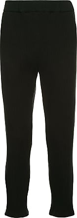 Yoshiokubo micro pleated trousers - Black
