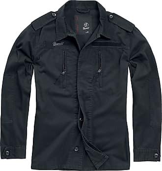 Brandit BDU Tactical Jacket Men Between-Seasons Jacket Black 3XL, 100% Cotton