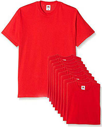 22707a1e7bb4f Fruit Of The Loom® : T-Shirts en Rouge dès 3,99 €+   Stylight