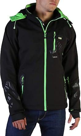 Geographical Norway Mens Jacket in Black Model Tranco Man - Black - L