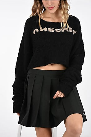 Unravel Embroidered Cropped Sweater size M