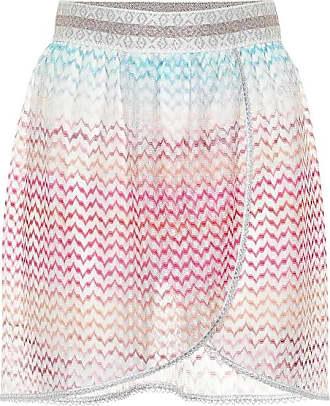 Missoni Crochet knit miniskirt