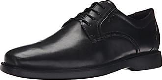 Geox Mens Mbrayden2Fit1 Oxford, Black, 41 EU/8 M US