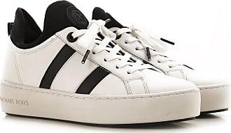 Michael Kors Sneaker für Damen, Tennisschuh, Turnschuh Günstig im Sale, Optik Weiss, Leder, 2019, 35 35.5 36 36.5 37 38 38.5 39 39 40