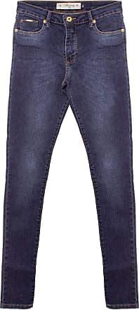Aleatory Calça Jeans Feminina Aleatory Real-Azul-42
