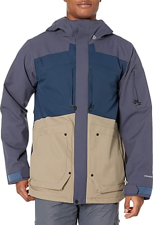 Volcom Mens Scorth Insulated Snow Jacket Vest - Blue - M