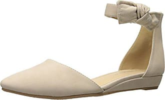 Chinese Laundry Womens Sonje Pointed Toe Flat, Pale Nude Nubuck, 8 M US