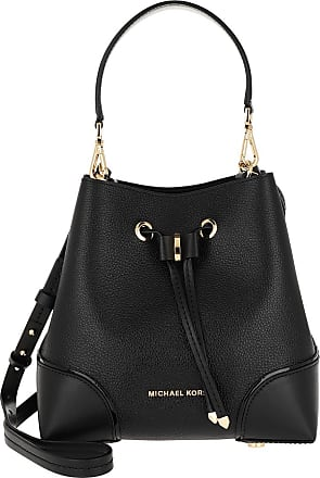 Michael Kors Bucket Bags - Mercer Gallery Small Shoulder Black - black - Bucket Bags for ladies