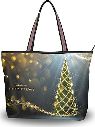 Happy Xmas Christmas Womens Fashion Large Shoulder Bag Handbag Tote Purse for Lady