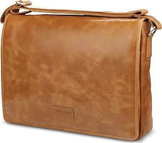 df89534fee6 dbramante1928 Marselisborg 14 Inch Messenger Bag Laptop Tan