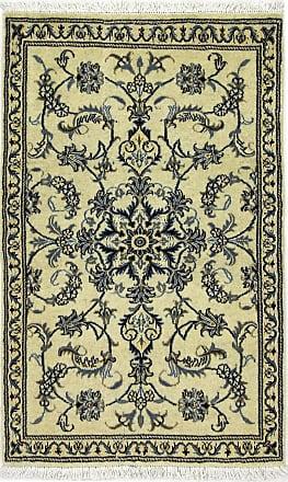 Nain Trading 142x87 Nain Rug Dark Grey/Dark Brown (Iran/Persia, Wool/Silk, Hand-Knotted)