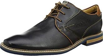 bugatti Herren 323507613500 Sneaker, Schwarz, 45 EU