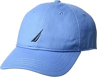 a1d2dedb6 Nautica Mens J-Class 6-Panel Cap Hat, Cornflower Blue, One Size