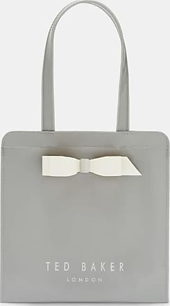Ted Baker Bow Detail Small Icon Bag in Grey ARYCON, Womens Accessories
