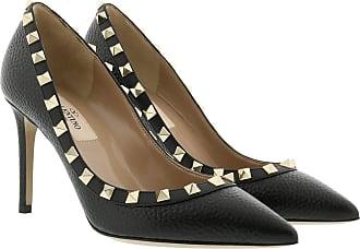Valentino Pumps - Studded Rockstud Pumps Leather Black - black - Pumps for ladies