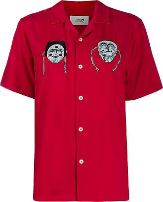Kirin Camisa com bordado - Vermelho