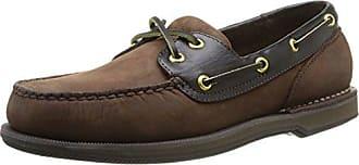 Rockport Mens Perth Shoe, chocolate/bark, 10.5 N US