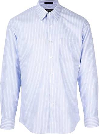 Durban Camisa listrada - Azul