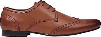 Firetrap Mens Beaufort Shoes Brown UK 9.5
