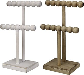 A & B Home Beaded Jewelry Stands - Set of 2 - 43067