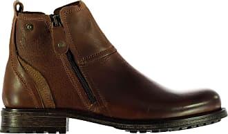 Firetrap Mens Jinx Smart Boots Tan UK 9.5 (43.5)