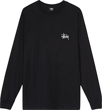 Stüssy Basic longsleeve t-shirt BLACK S