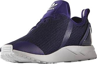 adidas Originals Mens Mens ZX ADV Flux Asymmetrical Trainers in Purple - UK 9