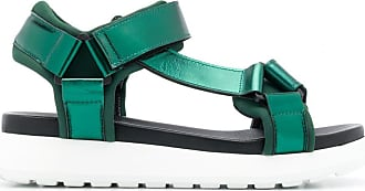 P.A.R.O.S.H. strappy platform sandals - Green