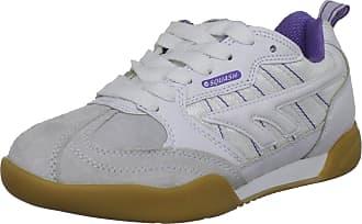 Hi-Tec Squash Classic, Womens Court Trainers, White/Violet, 4 UK