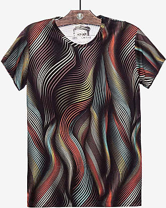 Hermoso Compadre T-SHIRT ABSTRACT LINES 103702-Preto-GG