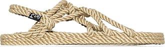 Nomadic State of Mind Sandali JC con cinturini in corda - Color marrone