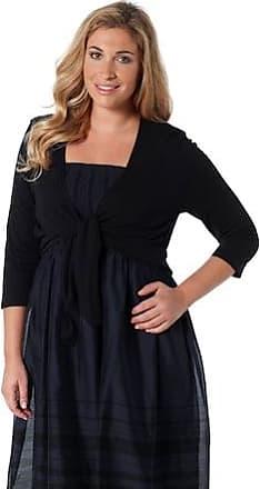 3a272bda90812f Ulla Popken Bolero Jacke Damen 42/44, schwarz, Mode in großen Größen