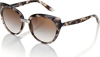 Madeleine Cateye Sonnenbrille in taupe MADELEINE Gr ohne, taupe/multicolor für Damen. Kunststoff, Metall