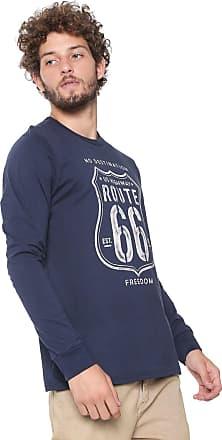 Malwee Camiseta Malwee Route 66 Azul- marinho