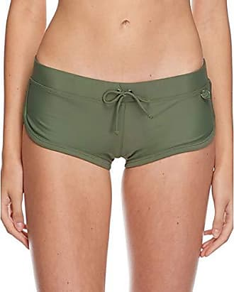 6825447635a87 Delivery: free. Body Glove Womens Smoothies Sidekick Solid Sporty Bikini  Bottom Swimsuit Short, Cactus, Medium