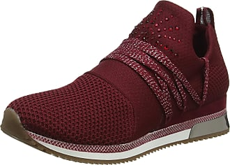 Marco Tozzi Womens 2-2-23738-33 Slip On Trainers, Red (Chianti Comb 522), 3.5 UK