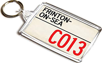 ILoveGifts KEYRING - Frinton-on-Sea CO13 - UK Postcode Place Gift