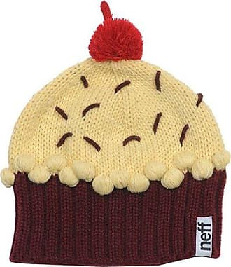 a905bbe4377 Neff Neff Womens Cupcake Beanie Hat - Red Velvet