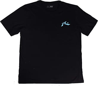 Rusty Camiseta Rusty Tamanho Especial - Preta - 2G