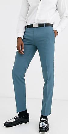 Twisted Tailor Hemmingway - Pantaloni da abito super skinny blu