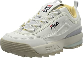 Fila Womens Disruptor Cb Low Wmn Top Sneakers, White (White 1010604-02x), 5 UK