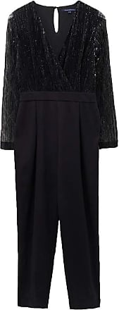 French Connection Rubina Jersey Embellished Jumpsuit, Black, 10 (36)