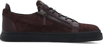 Giuseppe Zanotti Brown suede low-top sneakers FRANKIE